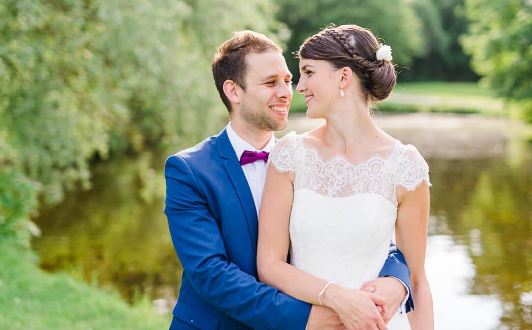 Professionelle Hochzeitsfotos von Jung und Wild design auf Schloss Blutenburg in München