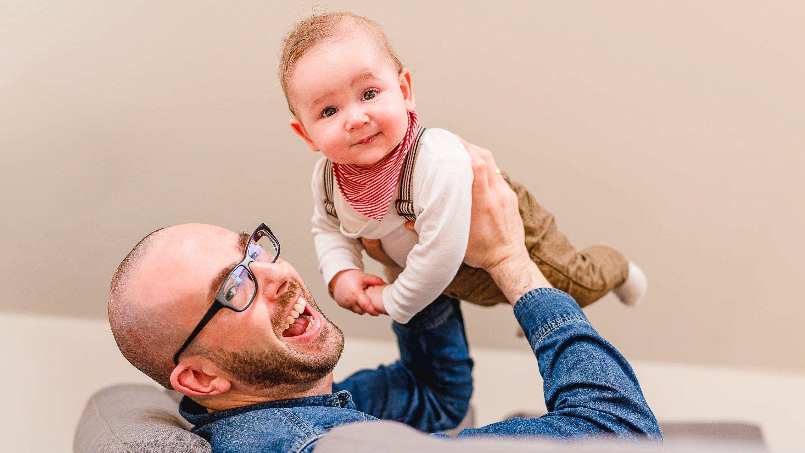 Vater mit Kind Shooting