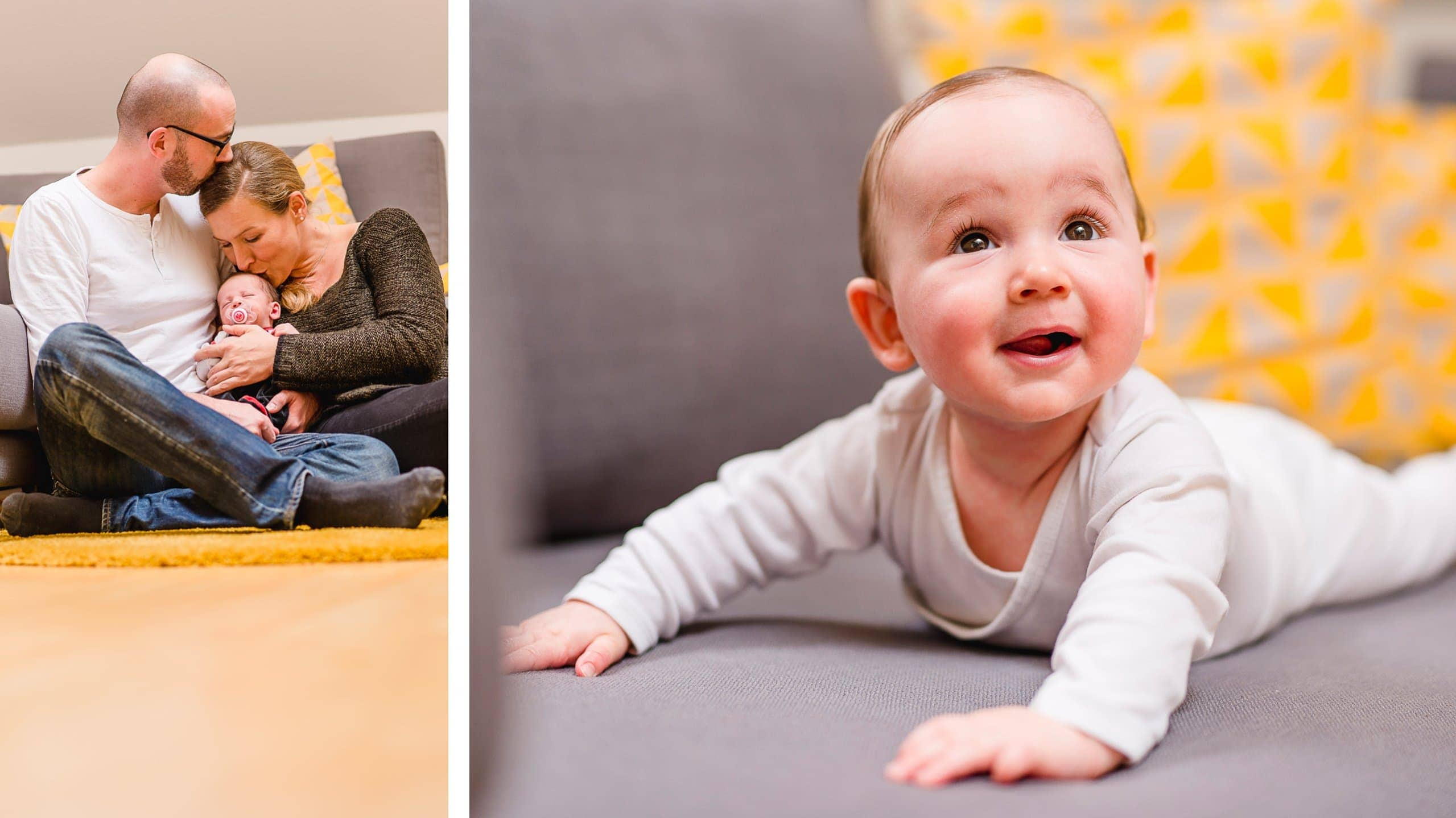 Eltern mit Kind Fotografie