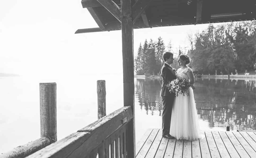 Das LaVilla am Starnberger See als Hochzeitslocation nahe München, Hochzeitsreportage von Jung und Wild design aus München