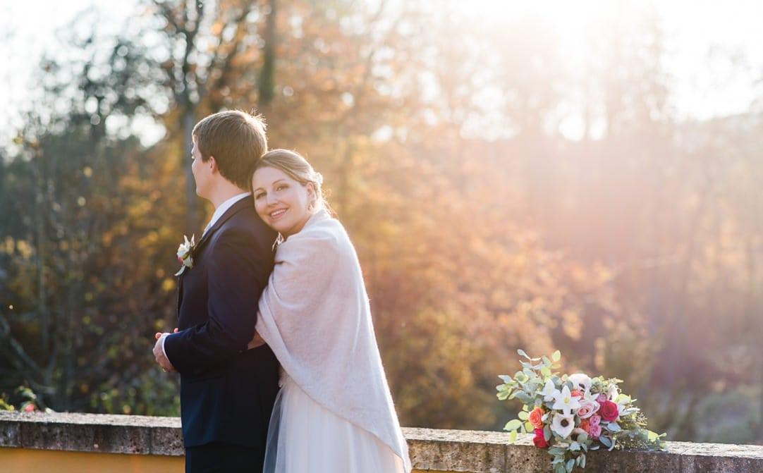Abendsonneportraits im LaVilla, Herbstsonne im November, Hochzeitsfotos im Winter, Jung und Wild design
