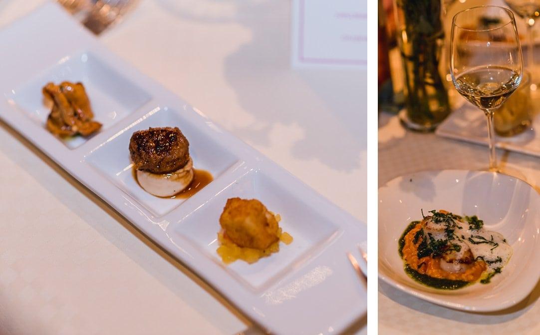 Kulinarische Köstlichkeiten im LaVilla am Starnberger See zur Hochzeitsfeier, Hochzeitsfotos von Jung und Wild design