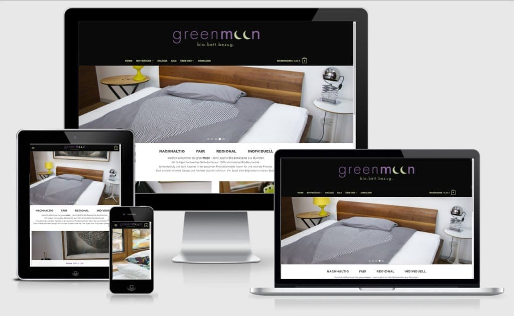 Greenmoon Design Online Shop