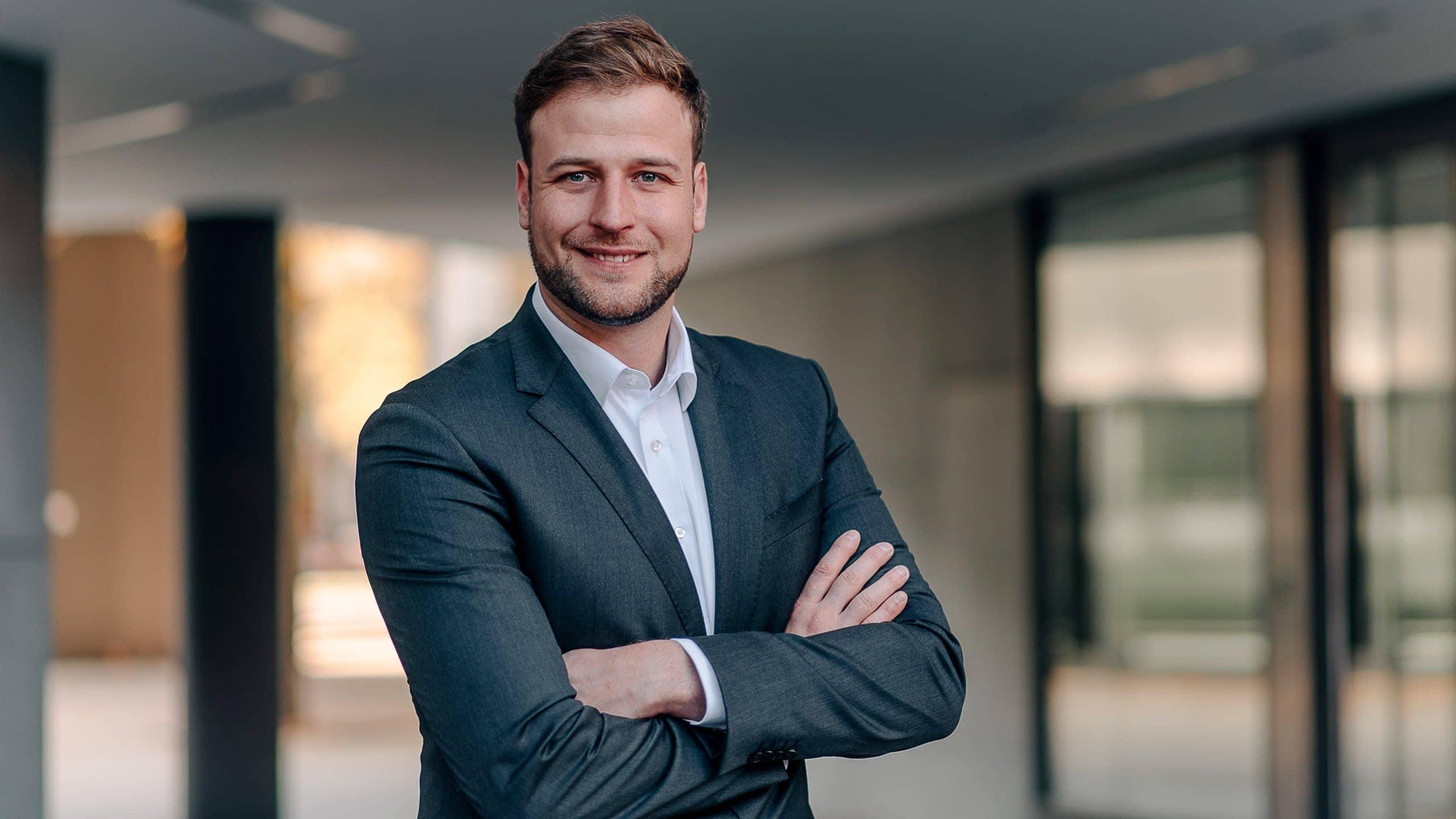 Professionelle Business Und Bewerbungsbilder In München