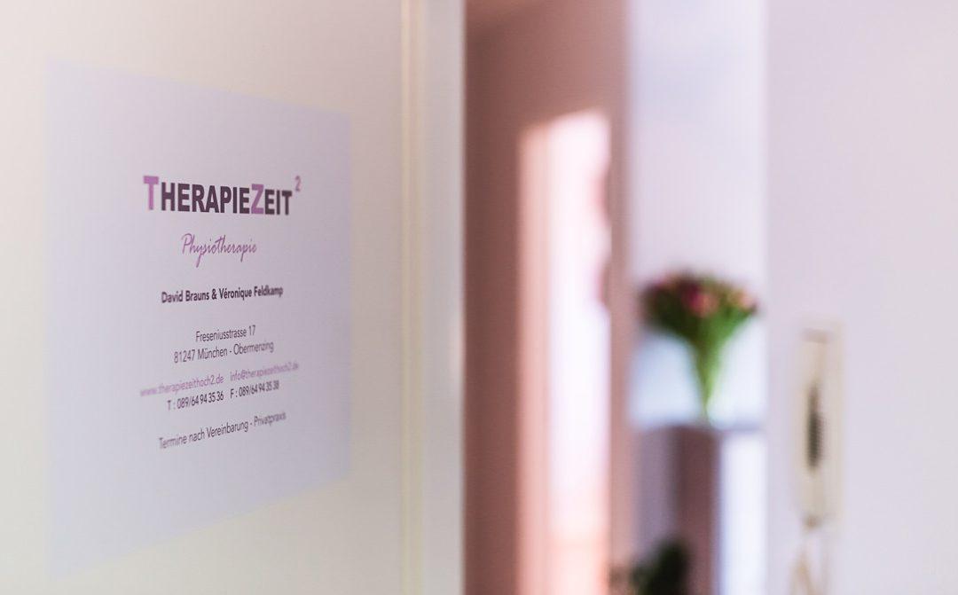 Imagefotografie im Medizinischen Bereich – die TherapieZeit hoch 2 Praxis in München Obermenzing