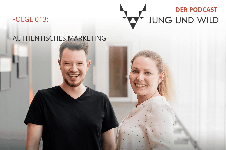 Der Podcast von Jung und Wild: Folge 013 authentisches Marketing mit Instagram, Pinterest & Co