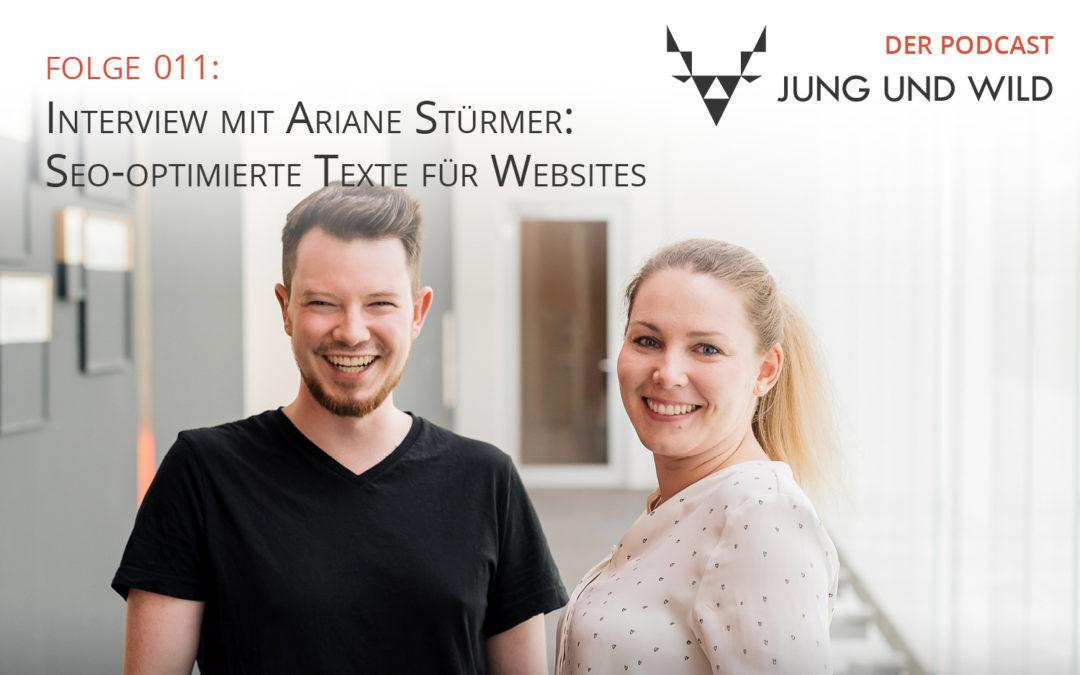 Podcast Folge 011: Interview mit Ariane Stürmer: Seo-optimierte Texte für Websites