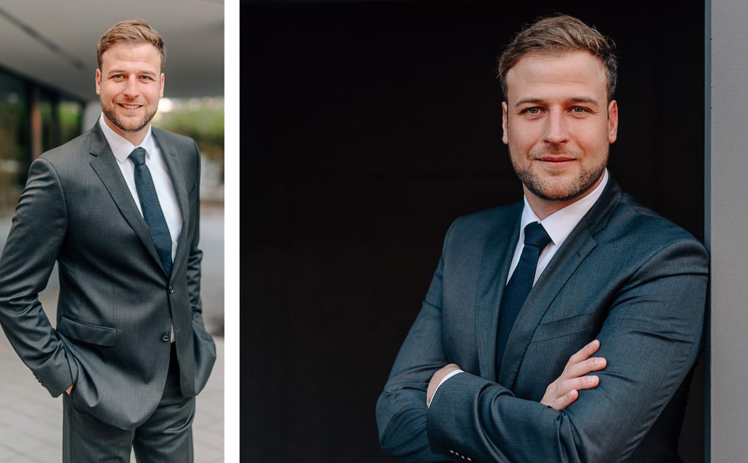 Professionelle Bewerbungsfotos mit Business Charakter: Tipps für gute Bewerbungsbilder vom Profi