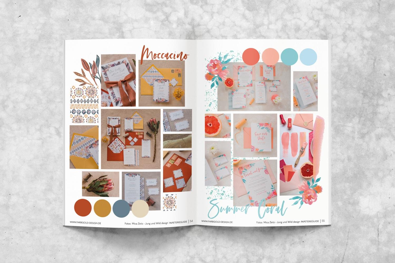 Der Papeterieguide von Farbgold: eine Empfehlung an alle planenden Brautpaare, Papeterie, Hochzeitseinladungen, Save the Date, Dankeskarte