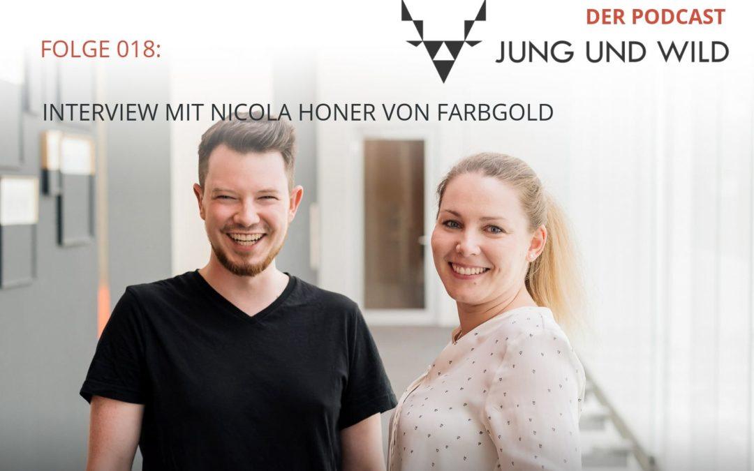 Podcast Folge 018: Interview mit Nicola Honer von Farbgold