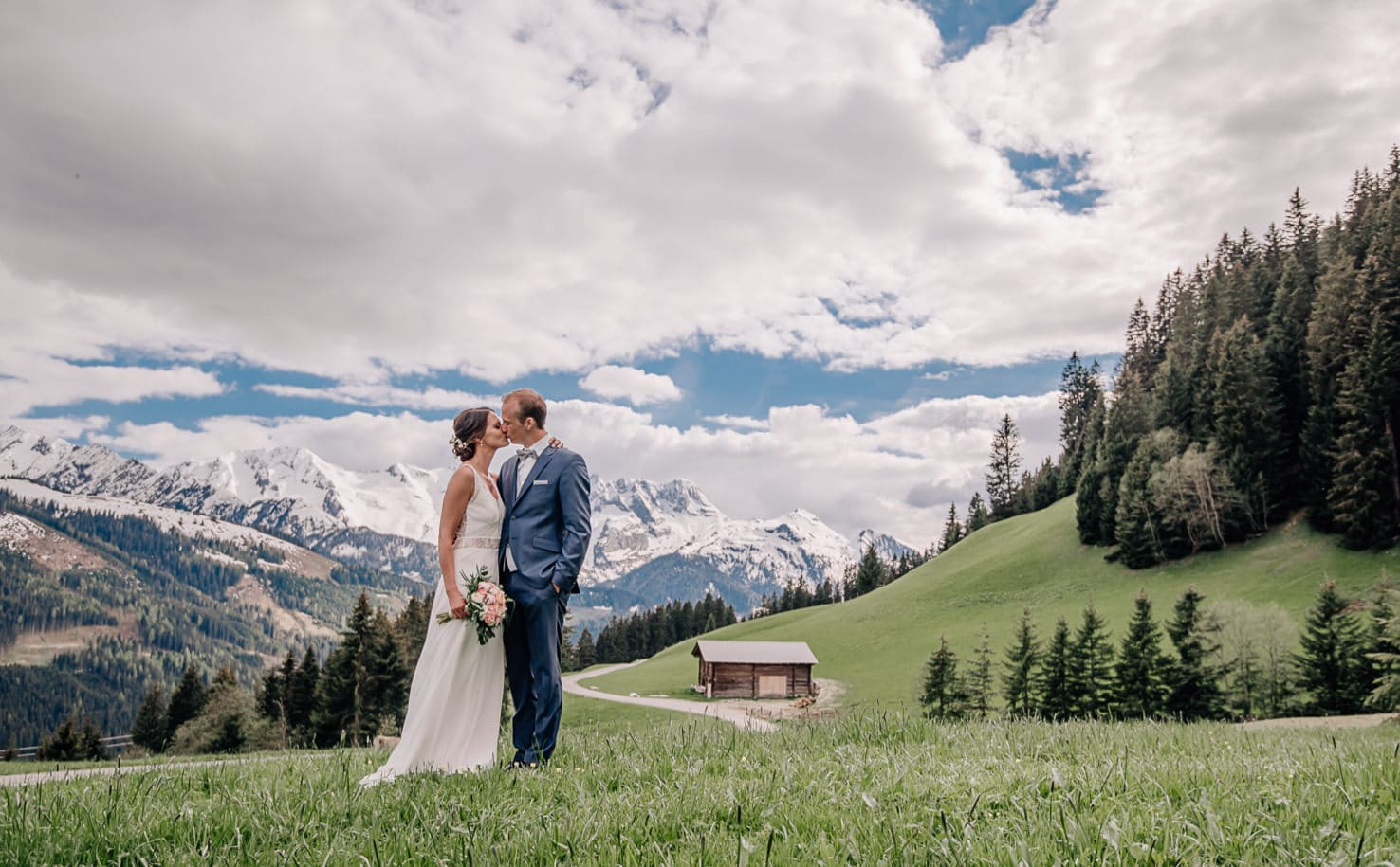Heiraten am Berg: Traumhochzeit auf der Rössl Alm