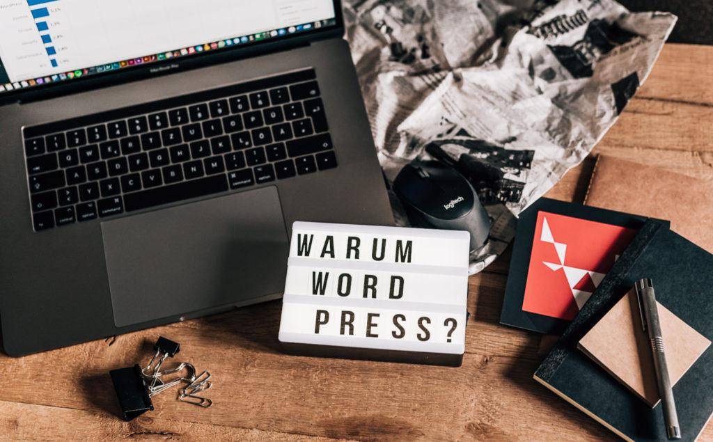 Jung und Wild design Wordpress Webentwicklung, Warum WordPress?