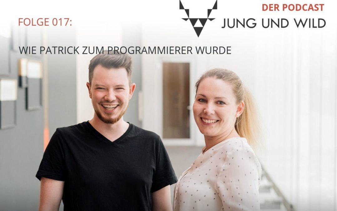 Podcast Folge 017: wie Patrick zum Programmierer wurde