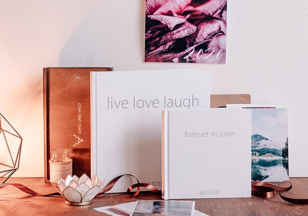 Printprodukte von Jung und Wild design - Hochzeitsbücher