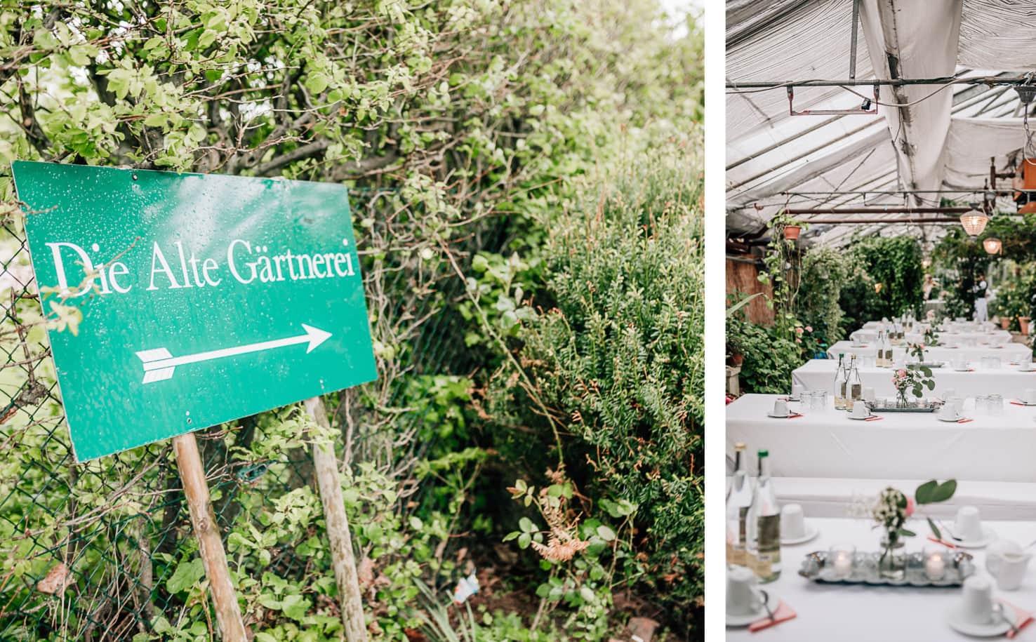 Jung und Wild design Hochzeitsguide Locations - Alte Gärtnerei in Taufkirchen bei München, Hochzeitslocation
