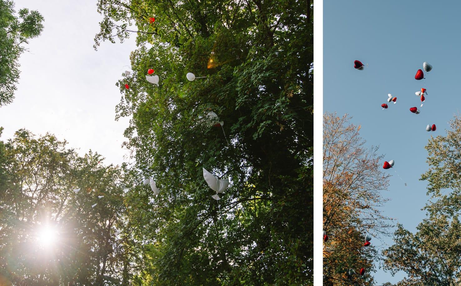 Hochzeitsguide Jung und Wild design: Luftballons steigen lassen
